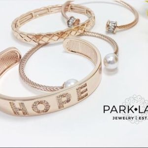 Park Lane Jewelry - Eden Bracelet HOPE Rosegold